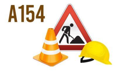 Travaux de réfection Autoroute A154 du 20/04 au 07/05/20