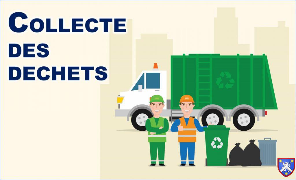 Collecte des déchets du Vendredi 8 Mai