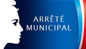 Arrêté Municipal sur le port du masque rue Edouard Theysset, parking de l'espace Guy Lheureux, Parking de l'école