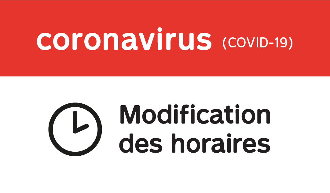 Covid 19 – Horaires Mairie