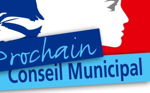 Conseil Municipal le 02 Avril 2021